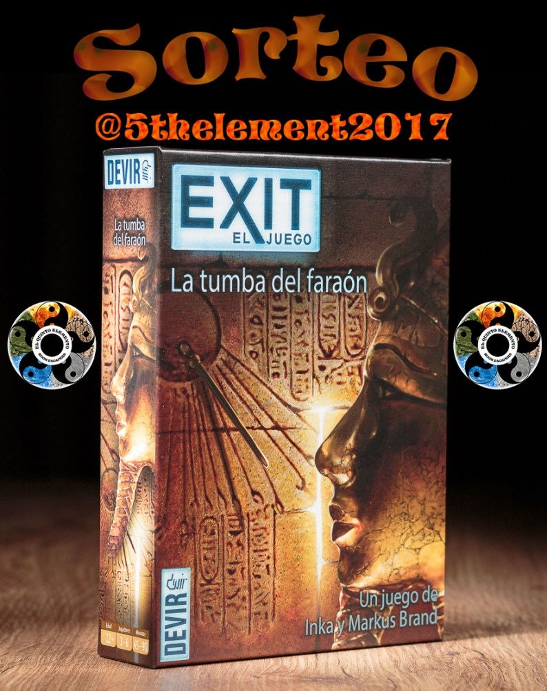 Sorteo Exit Faraon