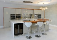 Acrylic and Walnut - Room Makers Ltd - Bespoke Kitchens ...