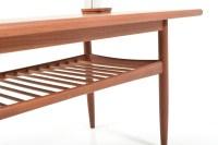 Mid Century dansih Sofa Table in Teak - Room of Art