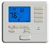 2 Heat 2 Cool Digital Room Thermostat For Heat Pump With ...