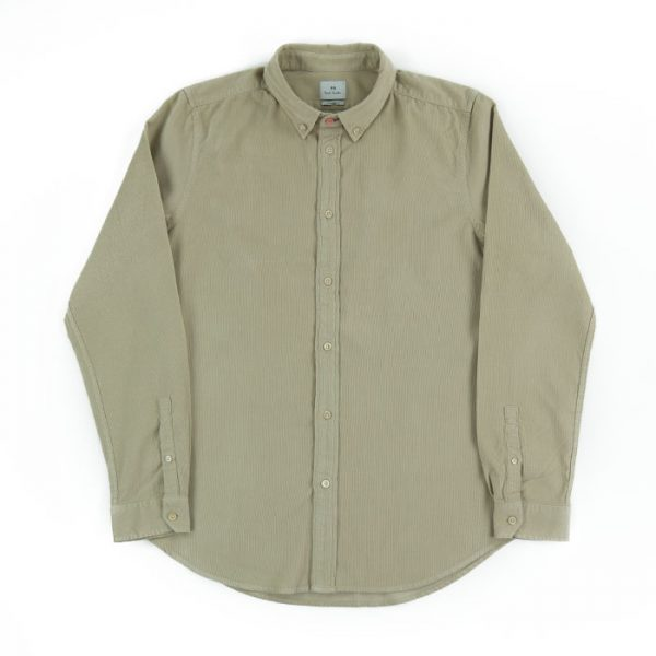 Paul Smith Tailored Cord Shirt in Beige Room 26 Carlisle