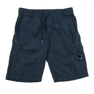 C.P. Company Chrome-R Lens Cargo Shorts in Total Eclipse Room 26 Carlisle