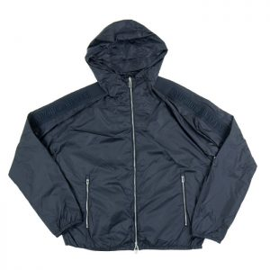 Emporio Armani Nylon Taped Shoulder Logo Jacket in Blu Navy Room 26 Carlisle