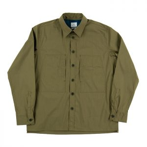Paul Smith Casual Double Pocket Shirt - Olive Green Room 26 Carlisle