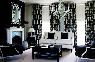 Black And White Decorating Ideas Room Decorating Ideas