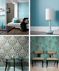 Home Furniture Decoration: Wall Decor Turquoise