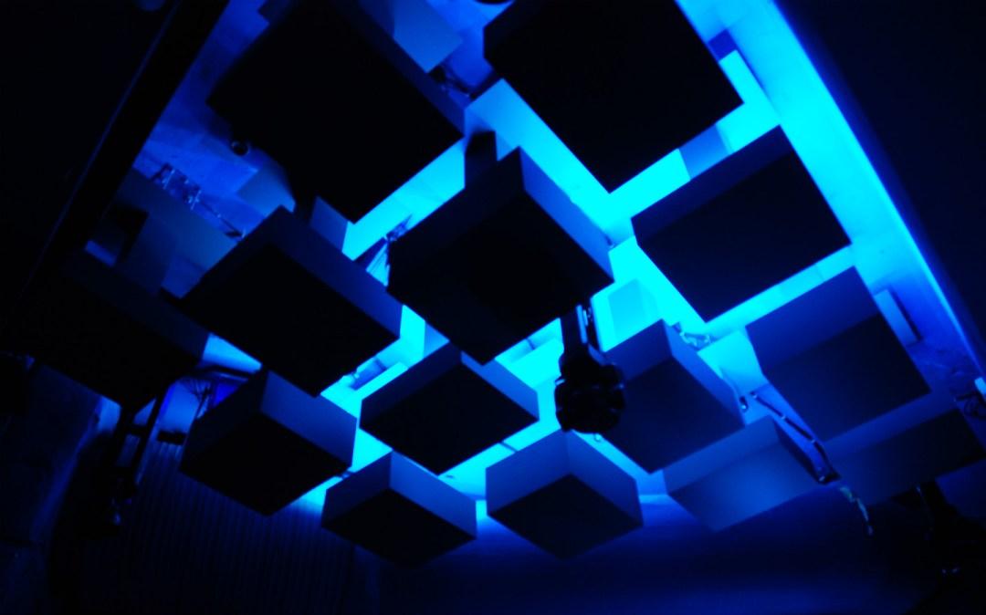 The Villa Oslo Ceiling Installation 02