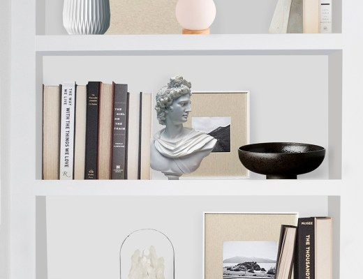 Shelfie : Neutral & Sophisticated - roomfortuesday.com