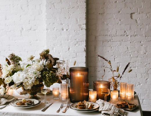 Inspiring Tabletops for Thanksgiving - roomfortuesday.com