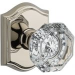 Crystal Privacy Door Knob