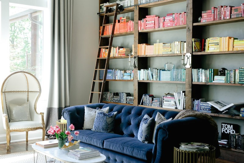 How to Style a Blue Sofa - Roomhints.com