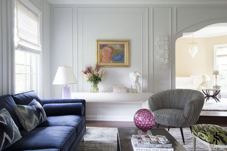 How To Style A Blue Sofa In 2020 On Roomhints Com