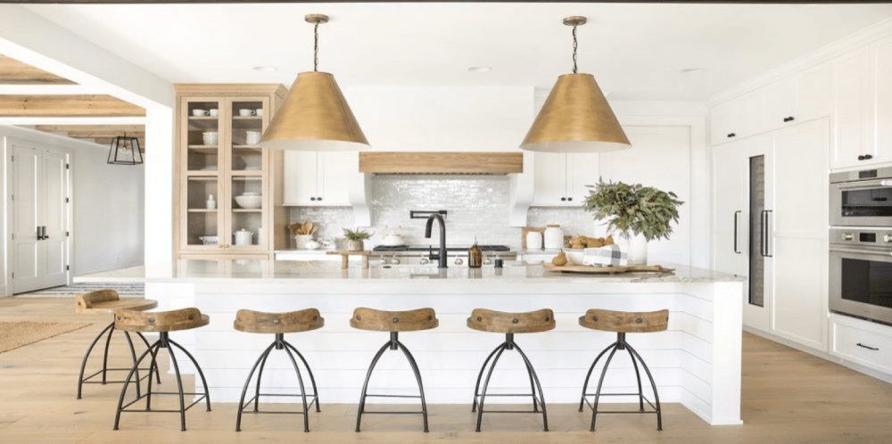 large bronze light pendant kitchen
