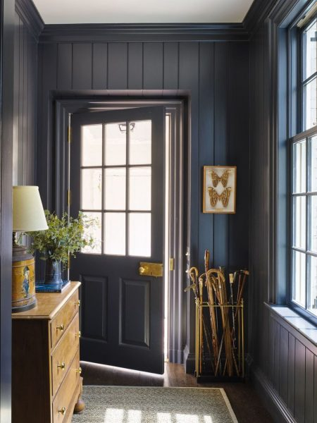 JAMES F. CARTER shiplap hallway