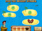 Treasure Hunt | Number Recognition Games Online for Kids