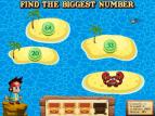Treasure Hunt | Number Recognition Games Online for Kids