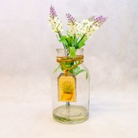 Lavender Jar White  Rooms and Blooms