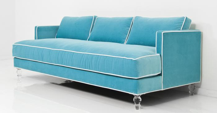 aqua sofa leather motion sets www roomservicestore com down with love in velvet