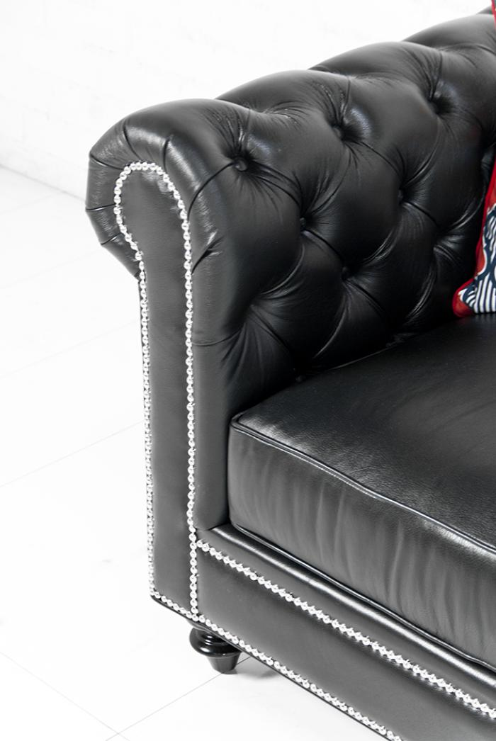 leather chesterfield sofa for sale rounded www.roomservicestore.com - in genuine ...