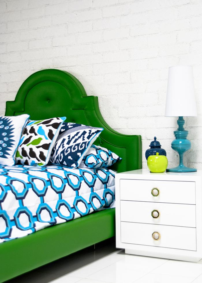 wwwroomservicestorecom  Palm Beach Bedding in Turquoise