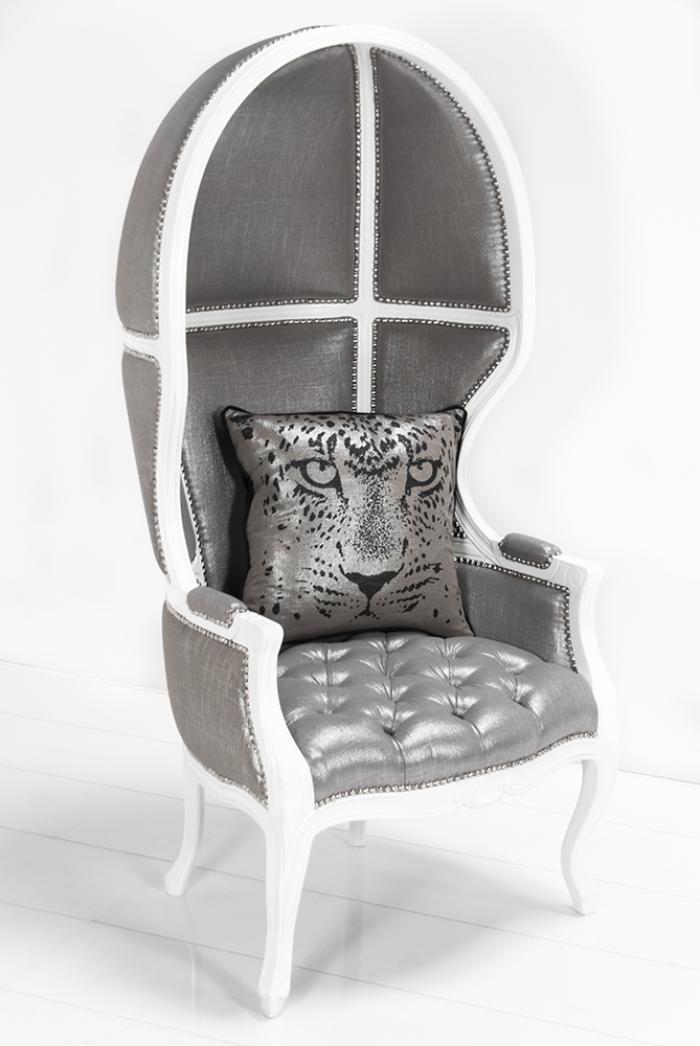 wwwroomservicestorecom  Balloon Chair in Metallic