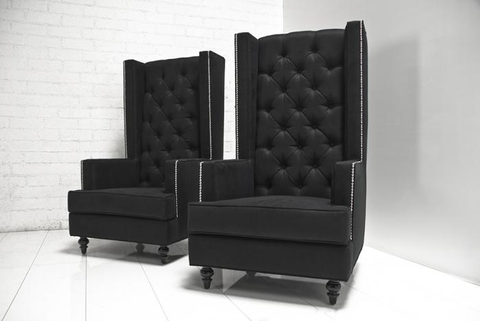 Oversized Chairs With Ottomans