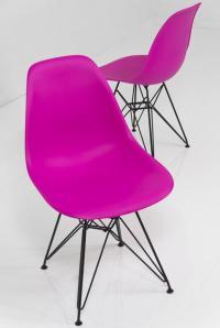 www.roomservicestore.com - Dark Pink Bucket Chair