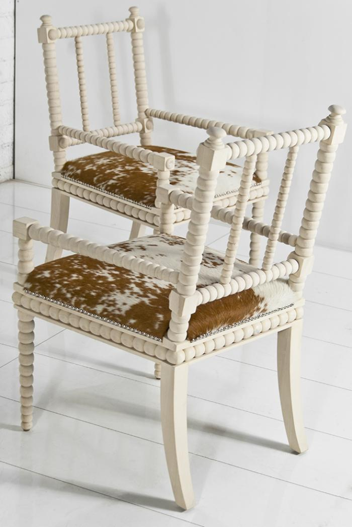 wwwroomservicestorecom  Acapulco Cowhide Dining Chair