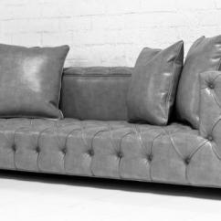 Glam Sofa Savers Www.roomservicestore.com - Tufted Fat Boy In Grey ...