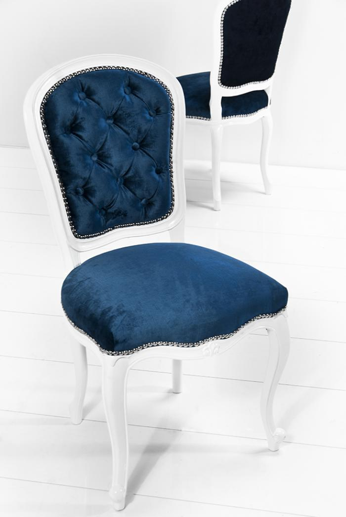 Navy Blue And White Chair Home Ideas