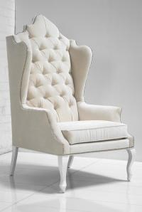 www.roomservicestore.com - Casablanca Wing Chair in Off ...