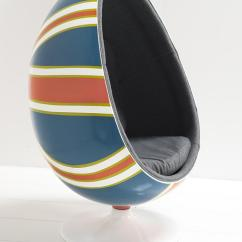 Mid Century Egg Chair Children S Table And Chairs Wooden Www.roomservicestore.com - Hand Painted Union Jack Pod