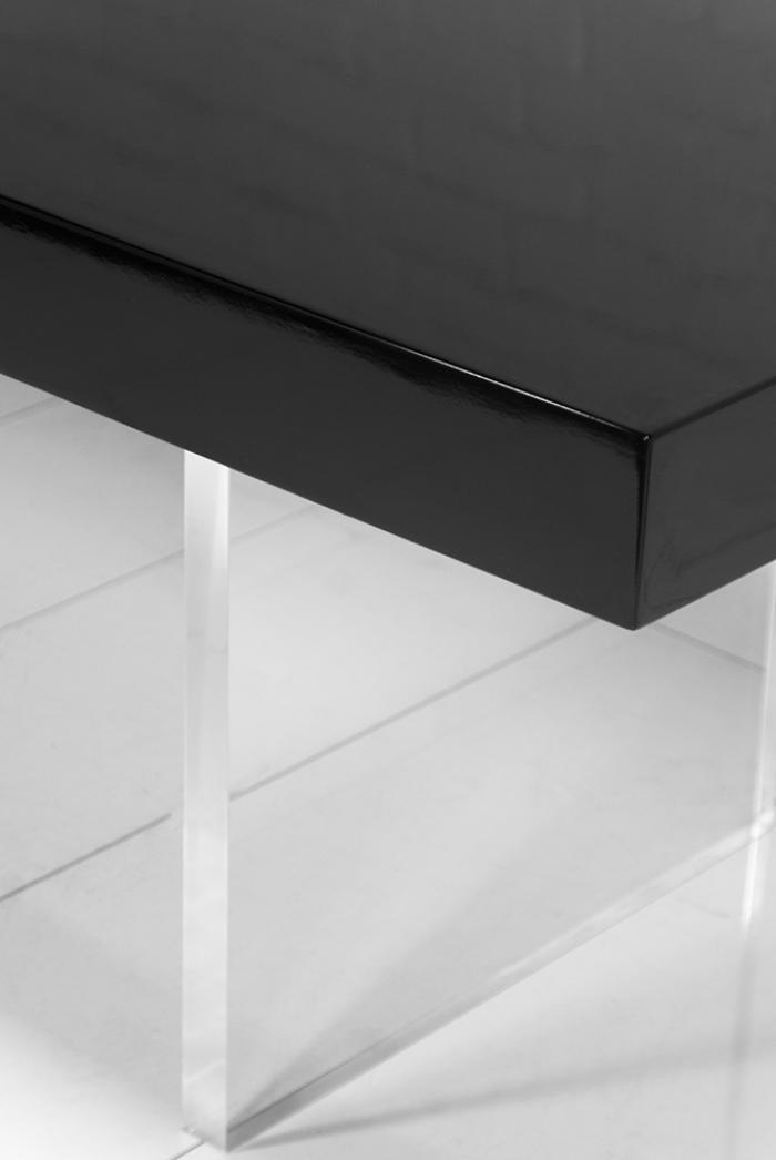 Wwwroomservicestorecom Lucite Plinth Leg Dining Table