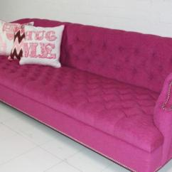 Tufted Linen Sectional Sofa Covers Target Www.roomservicestore.com - Bel-air Hot Pink
