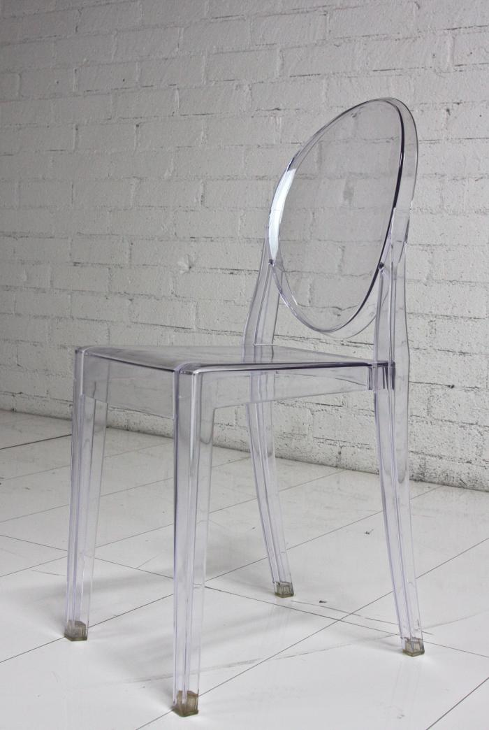 wwwroomservicestorecom  Acrylic Louis Style Chair Armless