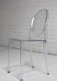 www.roomservicestore.com - Acrylic Louis Style Chair Armless