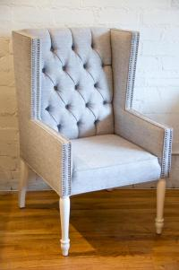 www.roomservicestore.com - Tufted Mod Wing Dining chair