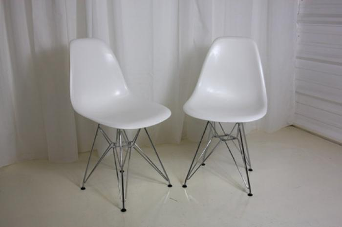 chromcraft chairs vintage white wood dining bucket – chair pads & cushions