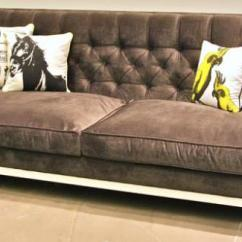 Pee Kensington Leather Sofa Pull Out Bed Upholstered - Thesofa