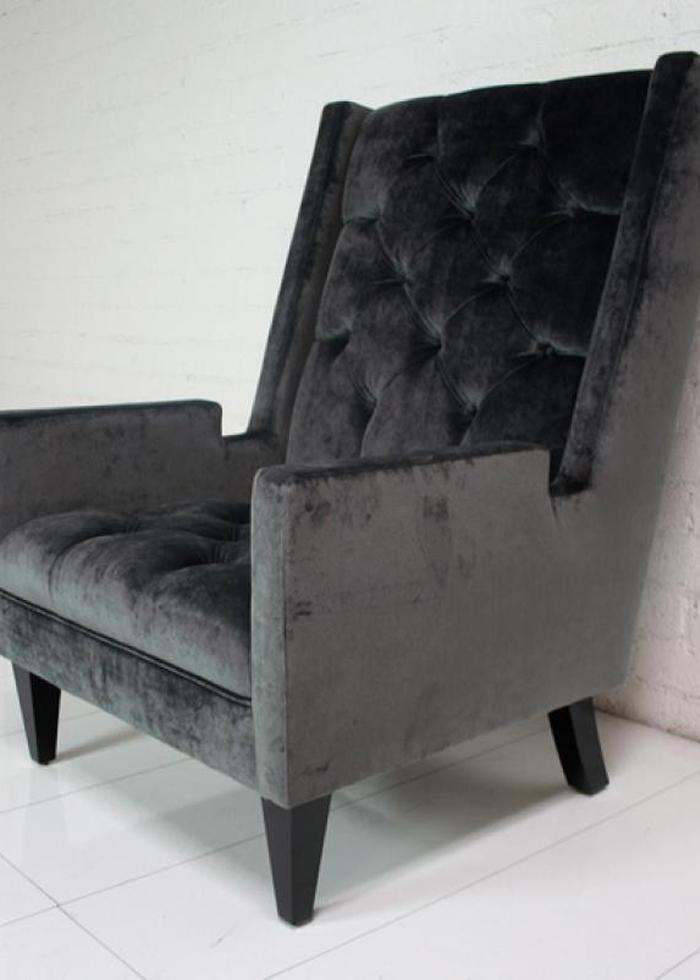 tufted sofa velvet awesome sets www.roomservicestore.com - knightsbridge wing chair in ...