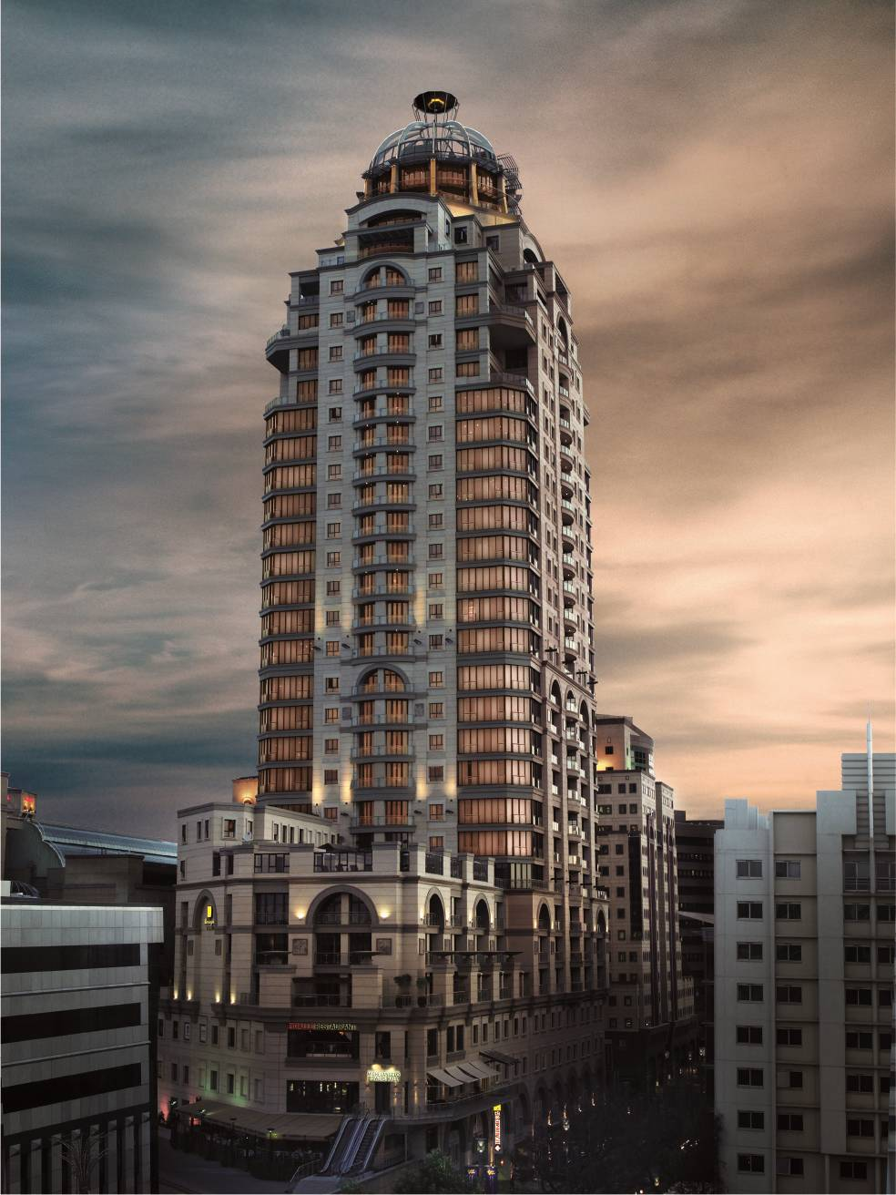 Michelangelo Towers  Johannesburg South Africa