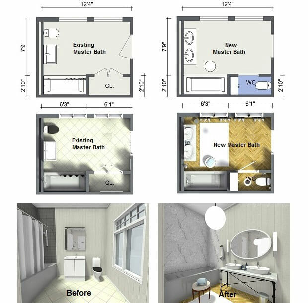 Plan Your Bathroom Design Ideas With Roomsketcher
