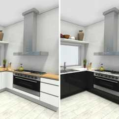 Kitchen Planners Moroccan Tile Backsplash Plan Your With Roomsketcher Blog Design Different Cabinet And Countertop Options