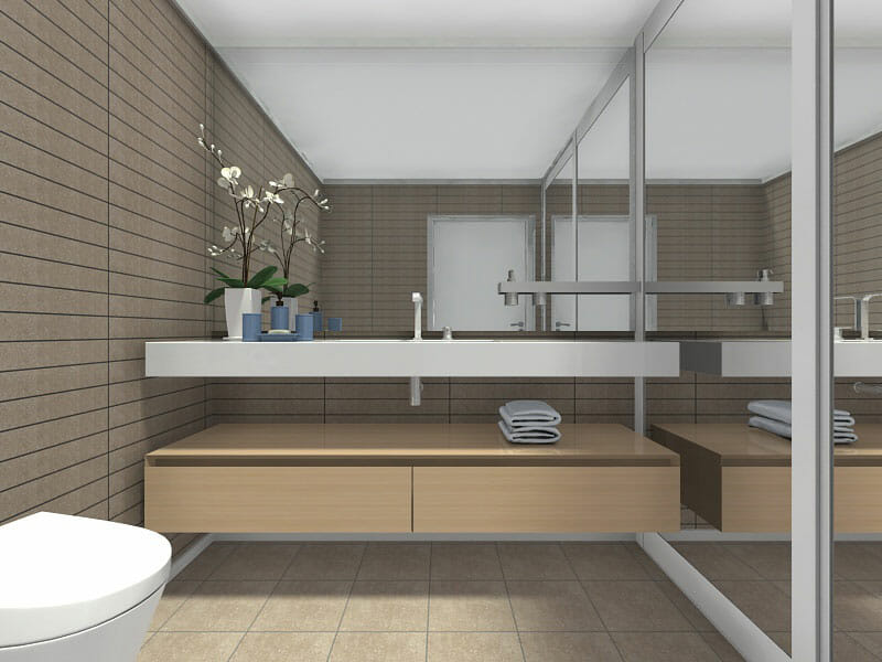 Roomsketcher Blog 10 Small Bathroom Ideas That Work