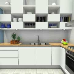 Building Kitchen Wall Cabinets Distressed White Diy Ideas Creative Roomsketcher Blog