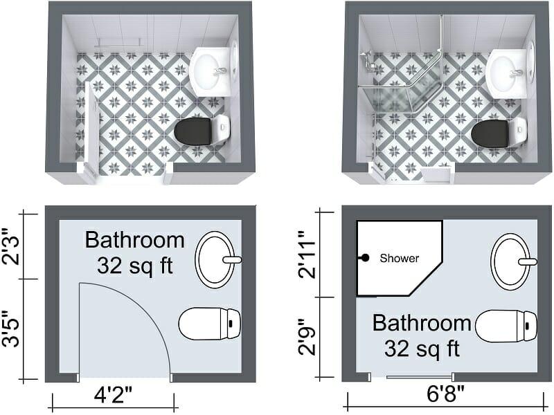 10 Small Bathroom Ideas That Work  RoomSketcher Blog