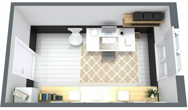 9 Essential Home Office Design Tips Roomsketcher Blog