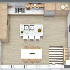 Kitchen Layout Ideas Tiles Designs 7 That Work Roomsketcher Blog Visualize Your In 3d With A Tool