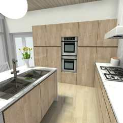 Best Kitchen Designs Cherry Wood Cabinets 7 Layout Ideas That Work Roomsketcher Blog Sink Location At Island