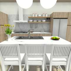 Kitchen Layout Ideas Best Cleaner For Cabinets 7 That Work Roomsketcher Blog With Fixtures And Appliances Locations